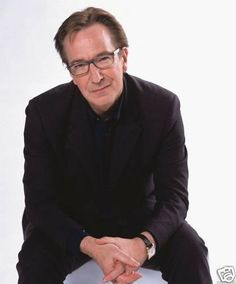 Squeal!!!!! He is so adorable, I am madly in love with Alan Rickman in glasses!!