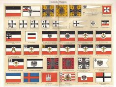 1902 Flags of the German Empire