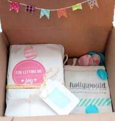 Holly Would Press wedding invitations packaging