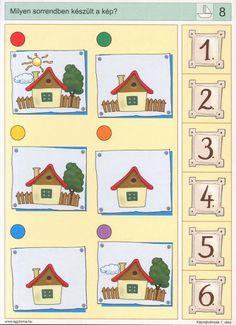 visuele discriminatie voor kleuters / preschool visual discrimination Sequencing Cards, Sequencing Activities, Montessori Activities, Kindergarten Activities, Preschool Activities, Visual Perception Activities, File Folder Activities, Color Games, Learning
