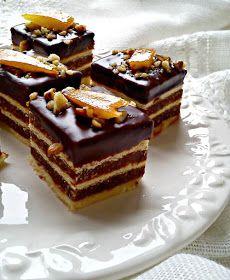Dobos Torte Recipe, Torte Cake, Baking Recipes, Cake Recipes, Posne Torte, Bake My Cake, Kolaci I Torte, Bunt Cakes, Croatian Recipes
