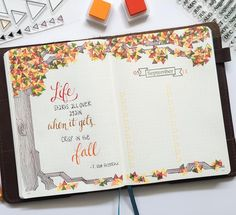 """239 Likes, 49 Comments - Kristine Bryant (@teachplancraft) on Instagram: """"This week's layout was inspired by the coming of fall - the temperature dropped enough yesterday to…"""""""