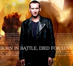 gallifreyburning:    bookishandi:    Dear Allison, this is your fault. Your tags gave me feels, so I dedicate this to you.  NINTH DOCTOR LOVE