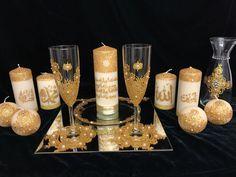 Henna Kerzen - Hochzeitsset -