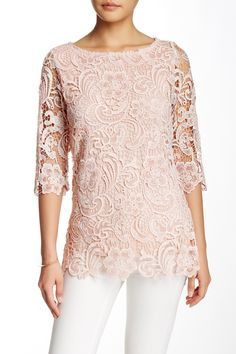 Layered Lace Blouse by Luma on @nordstrom_rack