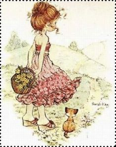Sientje-and-Co: Sarah Kay, Holly Hobbie y Petticoat señorita Sarah Key, Holly Hobbie, Sara Key Imagenes, Mary May, Decoupage, Image Deco, Ecole Art, Australian Artists, Illustrations