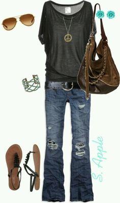 Hippie chic-- still my style...