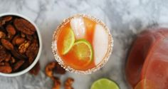 Michelada-- not for anytime soon, just looking for the perfect recipe!