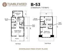 Tumbleweed House Plans | 35 Best My Tumbleweed Dream Cottage Images Tiny House Company