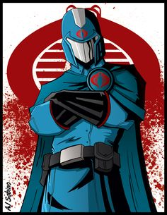 Cobra Commander by AJSabino on deviantART Cartoon Clip, Cartoon Logo, Cartoon Tv Shows, Cartoon Pics, Cobra Commander, Gi Joe Cobra, Japanese Anime Series, 90s Cartoons, Thundercats