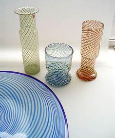 Kerttu Nurminen for Nuutajarvi Finland Glass Design, Design Art, Alvar Aalto, Lassi, Scandinavian Design, Finland, Modern Contemporary, Glass Art, Retro Vintage