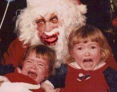 creepy mrs santa claus | Zombie makeovers - 15 wackiest 'Walking Dead ...