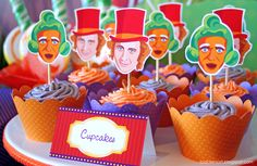 "Photo 10 of 26: Willy Wonka and the Chocolate Factory / Birthday ""Willy Wonka Inspired 7th Birthday Party"" 