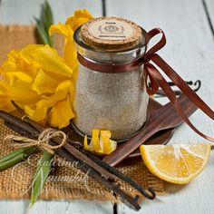 ароматизированный сахар с ванилью и лимоном