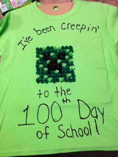 100th day of school shirt I made for two of our boys.