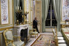 Image 8/23: French President Francois Hollande walks out of his office at the Elysee Palace, in Paris. Yoan Valat/Reuters