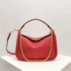 8194a72c7b32 2018 Mulberry Small Leighton Bag in Coral Rose Small Classic Grain Leather  -   Mulberry Outlet UK Team