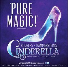 Cinderella Musical--On Broadway--November 30, 2013! That's Next Saturday!!!!