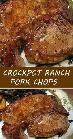 Pork Tenderloin Recipes, Pork Chop Recipes, Meat Recipes, Cooker Recipes, Pork Chops In Crockpot, Supper Recipes, Pork Loin, Yummy Recipes, Recipes