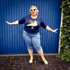 Maritime Fun – Happy Seagull – mein Möwenshirt | Miss Kittenheel vintage plussize curvy UllaPopken gingham marine retro