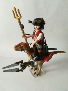 Playmobil Steampunk. Tony Mitre.