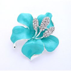 Hibiscus Flower Brooch Destination Wedding Bridal Bridesmaid Prom... (925 INR) ❤ liked on Polyvore featuring jewelry, brooches, blue brooch, brooch, flowers, blue bridal jewelry, bridal brooch, bridal jewelry, bridal jewellery and blossom jewelry
