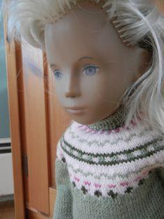 Sasha Doll Wardrobe hand knit
