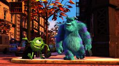One of my favorite movies.  Monsters inc.