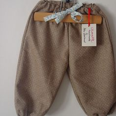 wool balloon pants