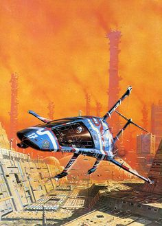 propagandery:  The stunning SF illustrations of Peter Elson (1947-98)