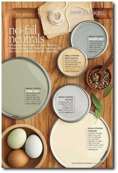 Better Home And Gardens Featured Paint Shades...That's Svelte Sage on the left above the eggs!