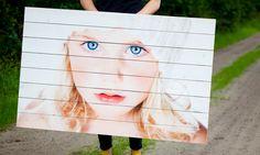 Foto op WhiteWash Vuren. Kijk voor meer informatie en voorbeelden op https://www.timberprint.nl/