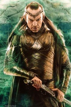 Lord Elrond - The Hobbit:  Battle of the Five Armies