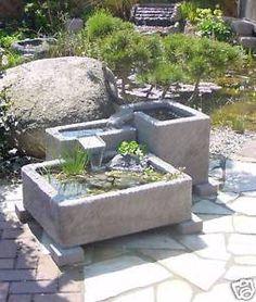 Cool Gartenbrunnen Brunnen Springbrunnen Wasserspiel Werksandstein Stein Garten hnliche tolle Projekte und Ideen wie im Bild vorgestellt findest du auch in