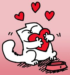 simon's cat love - Cerca con Google