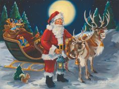 These high quality christmas paintings and christmas artwork are perfect for your home! Choose from a custom canvas and frame finish for your artwork. Christmas Artwork, Christmas Paintings, Christmas Posters, Christmas Crafts, Merry Christmas, Christmas Images, Christmas Stuff, Christmas Holidays, Christmas Ideas
