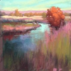 Watch   Paint : Pastel Painting Lessons