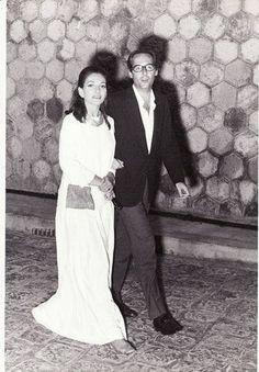 Maria Callas and Franco Rosselini
