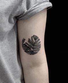 inked leaf - Tania Vaiana - barcelona