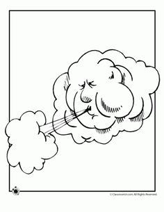 weather coloring pages and a lot more printables in other rh pinterest com Weather Rainy Day Coloring Page Cloudy Weather Coloring Pages