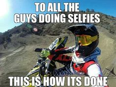 This is how real selfies are done.