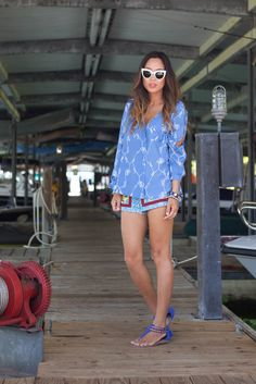 Song of Style: Ropes and Boats - Steve Madden sandals #smootd
