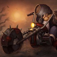 Gragas - League Of Legends ipad wallpaper