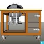BBQ meubel | Incl. Werkbeschrijving
