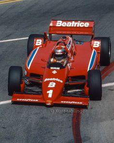 Mario Andretti - Lola Cosworth - Newman-Haas Racing - Toyota Grand Prix of Long Beach - 1981 PPG Indy Car World Series, round 1 - © Kurt Oblinger Indy Car Racing, Indy Cars, Ferrari, Mario Andretti, Custom Big Rigs, Formula 1 Car, Speed Racer, Motor Sport, Long Beach