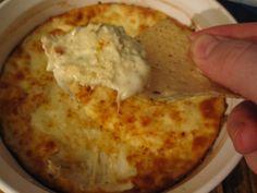 garlic parmesan wing dip