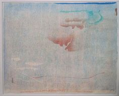 Helen Frankenthaler -   CEDAR HILL, 1983, Woodcut print, 20.25 x 24.75 inches, Edition of 75.