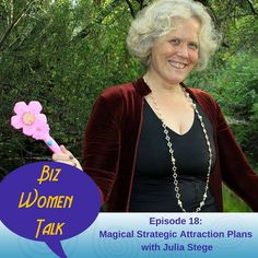 Today I'm talking with the magical Julia Stege the of Magical Marketing Company. Julia is all about inspiring people to show up in their purpose; open, free, and authentic by helping them with create branding and websites that attract their Soul Tribe. Julia shares the 4 questions to ask in order to develop you own Stategic Attraction Plan. Plus, I share my dirty little secret about eavesdropping!http://kickassbizcoaching.com/episode-18/#utm_sguid=148549,df6204b3-345f-7c1d-50de-9589cd1d3999