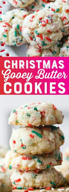 christmascookies christmas cookies holiday butter recipe gooey easy cake mix Christmas Gooey Butter Cookies Recipe Easy Christmas Cookies Cake Mix Cookies Gooey Butter ReYou can find Easy christmas cookies and more on our website Gooey Butter Cookies, Butter Cookies Recipe, Chocolate Chip Cookies, Cake Mix Cookie Recipe, Cookie Butter, Recipe Treats, Cookie Cakes, Chocolate Cake, White Cake Mix Cookies