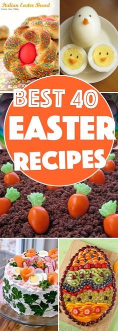 40+ Easter Recipes T